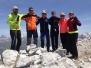 Montañeros en la Llena del Bozo