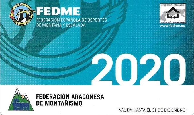 Licencia Federativa Infantiles 2020 (SOLO SOCIOS)