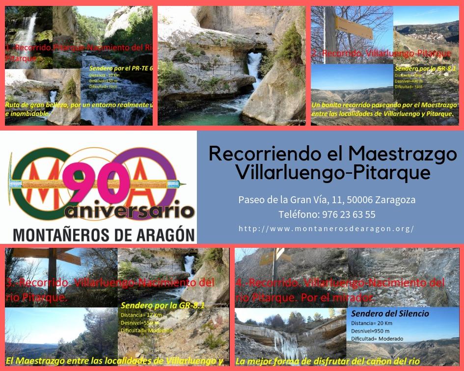 El Maestrazgo. Villarluengo – Nacimiento del Río Pitarque – Pitarque