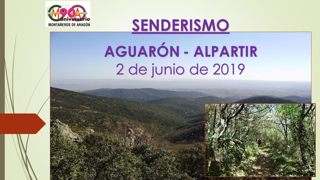 "Senderismo ""Aguarón – Alpartir"""