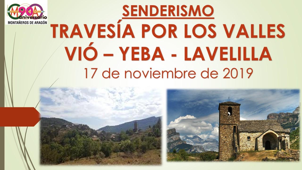 """Senderismo """"Travesía por los Valles. Vió-La Solana"""""""