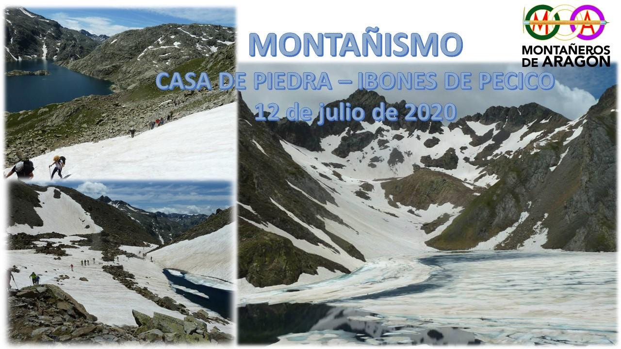 Montañismo. Casa de Piedra – Ibones de Pecicos